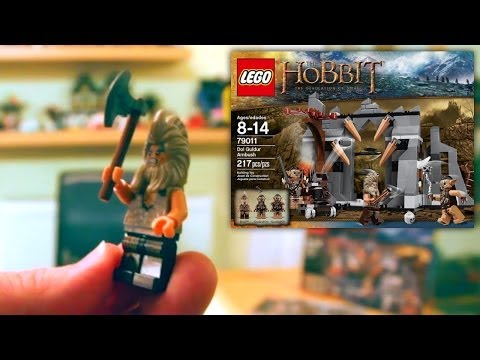 (1 of 4) LEGO The Hobbit The Desolation of Smaug Dol Guldur Ambush 79011 Unboxing and Review - YouTube thumbnail