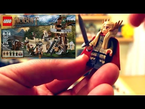 (2 of 4) LEGO The Hobbit The Desolation of Smaug Mirkwood Elf Army 79012 Unboxing and Review - YouTube thumbnail
