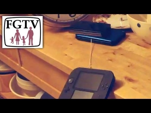 "2DS ""Folding"" Complex, Throws Itself Off Table, Saved By 3DS XL - YouTube thumbnail"