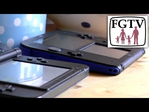 2DS vs 3DS XL & 3DS – Big Review – Time Lapse Battery, Screen Brightness, Volume/Sound - YouTube thumbnail