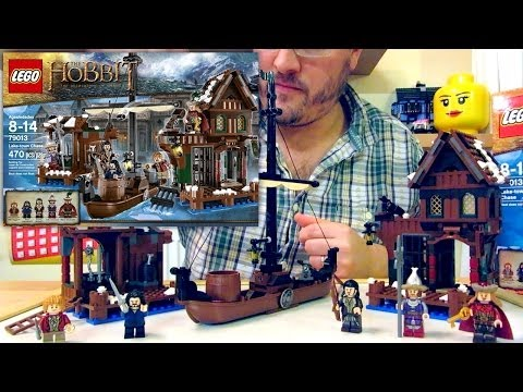 (3 of 4) LEGO The Hobbit The Desolation of Smaug Lake-town Chase 79013 Unboxing and Review - YouTube thumbnail