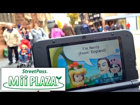 3DS/2DS Street Pass Family Introduction