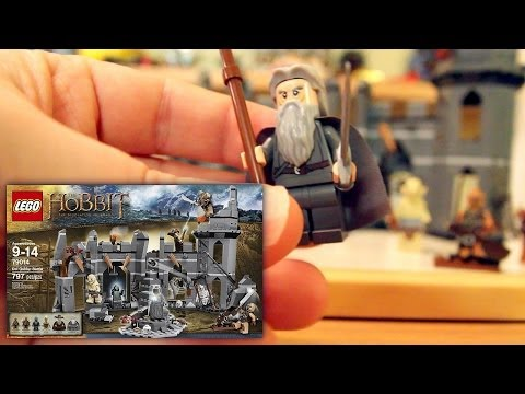 (4 of 4) LEGO The Hobbit The Desolation of Smaug Dol Guldur Battle 79014 Unboxing and Review - YouTube thumbnail