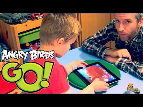 Angry Birds Go! App (4a of 5) Game-Play Hands On Preview - YouTube thumbnail