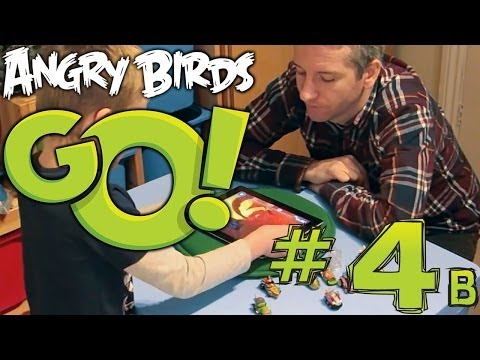Angry Birds Go! App (4b of 5) Game-Play Hands On Preview - YouTube thumbnail
