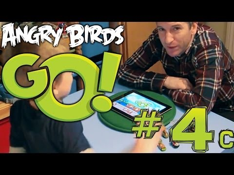 Angry Birds Go! App (4c of 5) Game-Play Hands On Preview - YouTube thumbnail