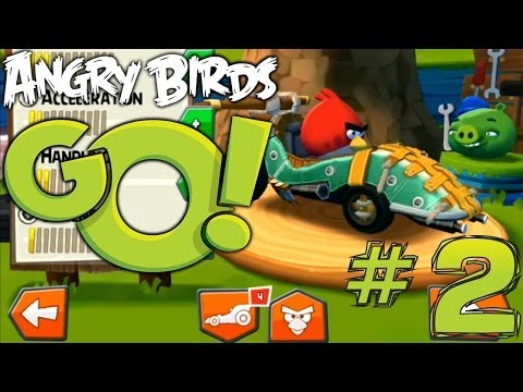 Angry Birds Go! Let's Play #2 – In App Purchases and Shoomerang Kart - YouTube thumbnail