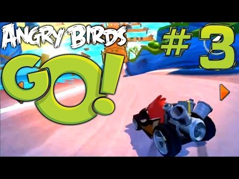 Angry Birds Go! Let's Play #3 – Big Bang kart, Comparitive In-App & Toy Prices - YouTube thumbnail