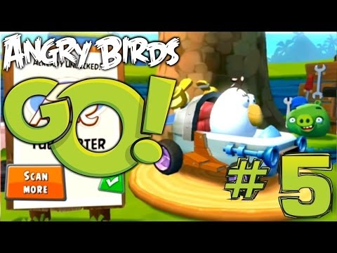 Angry Birds Go! Let's Play #5 – Matilda Air Tub Copter & Big Bang Karts (Air Tracks) - YouTube thumbnail