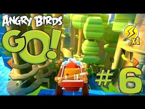 Angry Birds Go! Let's Play #6 – Tri Toaster Kart (Rocky Road) - YouTube thumbnail