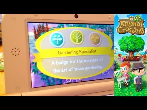 Animal Crossing New Leaf 3DS – Day 28 – Phineas Badges - YouTube thumbnail