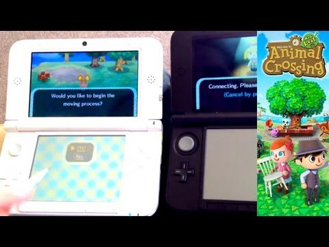 Animal Crossing New Leaf 3DS Unboxing & Move Player Out Into New Town – Day 25 - YouTube thumbnail