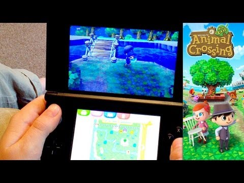 Animal Crossing New Leaf – Day 10 – Happy Homes, Adding Bridges & Ordinances - YouTube thumbnail