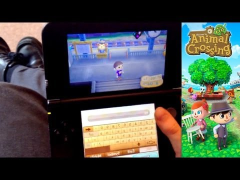 Animal Crossing New Leaf – Day 12.1 – Visitors Arrive Via Wi-Fi - YouTube thumbnail