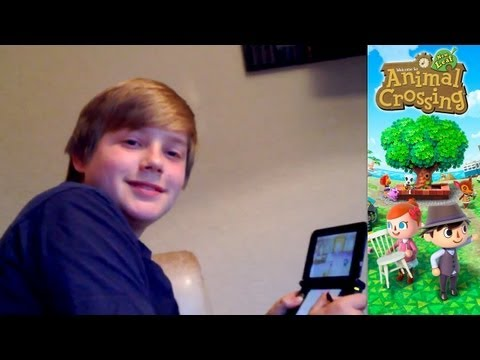Animal Crossing New Leaf – Day 12.3 – Co-Op Multiplayer Island Games Via Wifi - YouTube thumbnail