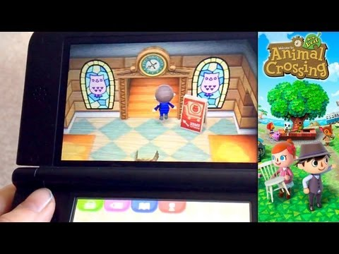 Animal Crossing New Leaf – Day 21 – Second Floor Museum, Silver Tools and Megaphone - YouTube thumbnail