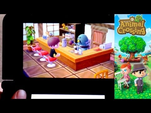 Animal Crossing New Leaf – Day 23 – Visiting Japanese Town for Turnip Prices - YouTube thumbnail