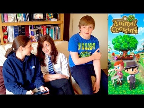 Animal Crossing New Leaf – Day 4 – Sharing Towns & Saharah Carpets - YouTube thumbnail