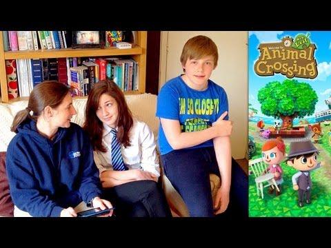Animal Crossing New Leaf – Day 4 – Sharing Towns & Saharah Carpets - YouTube thumbnail