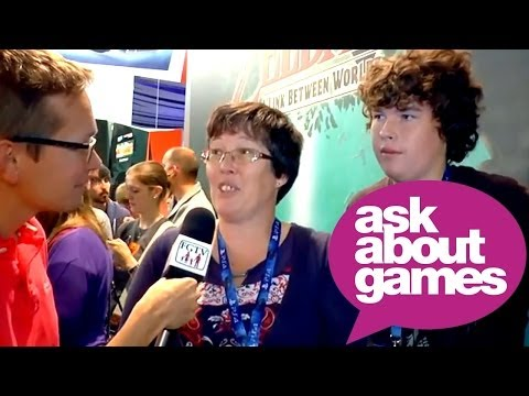 Ask About Games at Eurogamer Expo 2013 with the Buckle Family - YouTube thumbnail