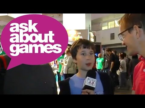 Ask About Games at Eurogamer Expo 2013 with the Moore Family - YouTube thumbnail