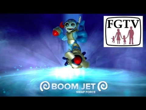 Boom Jet Swap Force PS4 Game-Play and Hands-On from Gamescom - YouTube thumbnail