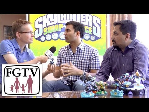 CEOs Talk Skylanders Swap Force PS4/Xbox One vs Wii, Gender, Combos, Reposed Giants, Adventure Packs - YouTube thumbnail