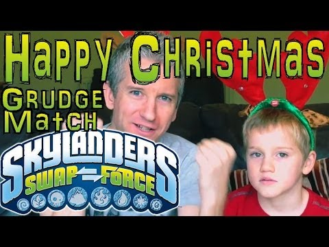 Christmas Grudge Match #15 – Dad & Son Swap Force Battle: Slam Bam vs Legendary Chill - YouTube thumbnail
