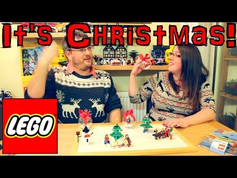 Christmas Lego Review Sets 30009, 30008, 40059, 40058, 850852, 850850, 850851, 60024 - YouTube thumbnail