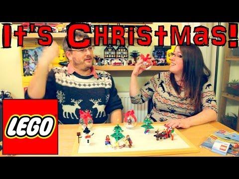 Christmas Lego Review Sets 30009, 30008, 40059, 40058, 850852, 850850, 850851, 60024 - YouTube thumbnail