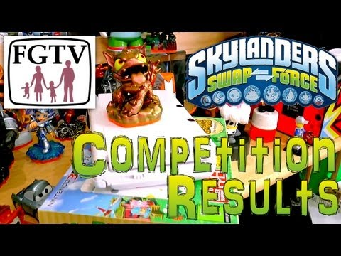 Competition Reults – Who Won Skylanders E3 Hot Dog, Animal Crossing 3DS XL, Mugen Battery - YouTube thumbnail