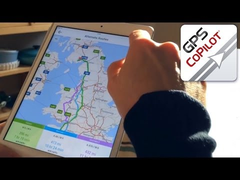 CoPilot App Update Christmas Travel Planning - YouTube thumbnail