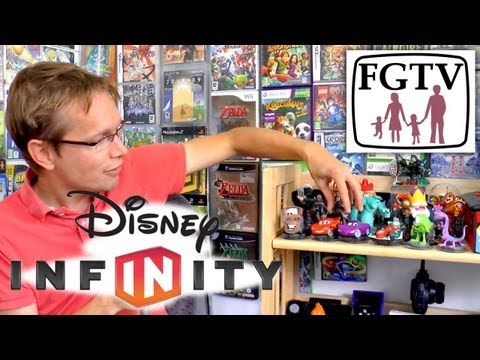 Disney Infinity Full Review  – Starter Pack and All Wave 1 Toys - YouTube thumbnail