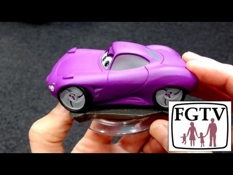 Disney Infinity Holley Shiftwell Unboxing and Gameplay – Cars Playset - YouTube thumbnail