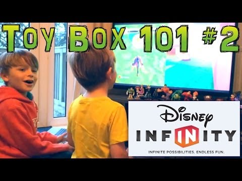 Disney Infinity How To Build First Game in the Toy Box (2 of 3) - YouTube thumbnail