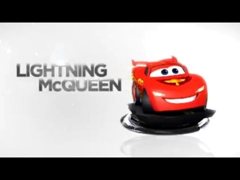 Disney Infinity Lightning McQueen Toy Trailer – Gameplay and Toy - YouTube thumbnail