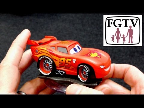 Disney Infinity Lightning McQueen Unboxing and Gameplay – Cars Playset - YouTube thumbnail