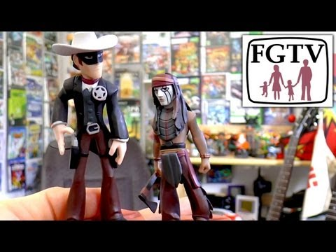 Disney Infinity Lone Ranger Playset Announced, Hands-On With Toy Figures - YouTube thumbnail