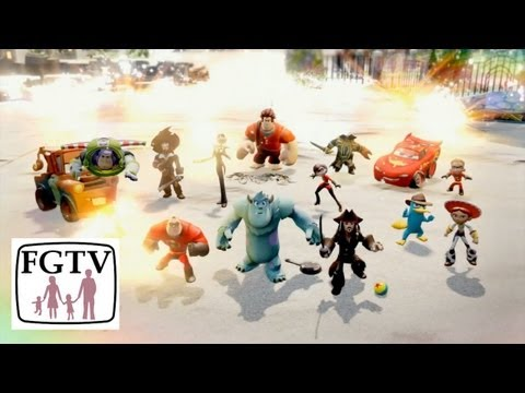 Disney Infinity Trailer Analysis – Gameplay and Toys