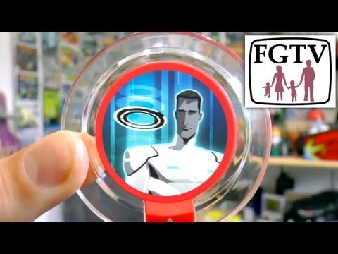 Disney Infinity Tron User Control Power Disc Exclusive at Toys R Us - YouTube thumbnail
