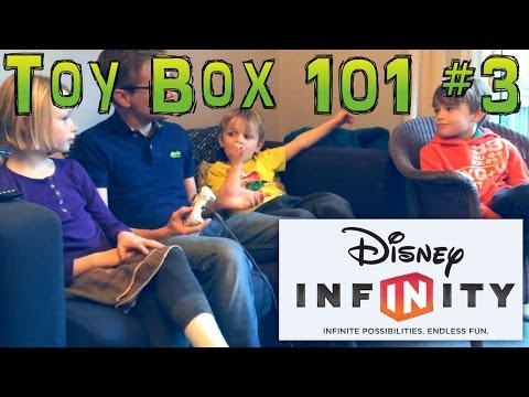 Disney Infinity unedited Toy Box Creation With Family (6, 8 and 10 Years Old) - YouTube thumbnail