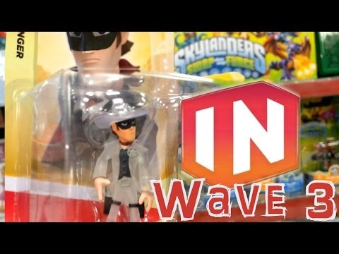 Disney Infinity Update: Wave 3 Figures, Crystal Lone Range, Wreck-It Ralph, Frozen, Tangled - YouTube thumbnail