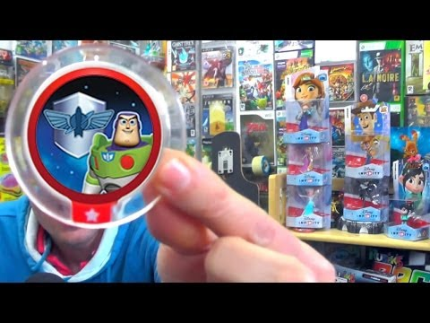 Disney Infinity Wave 2 Power Discs – Final Three of Set Revealed (1 of 2) - YouTube thumbnail