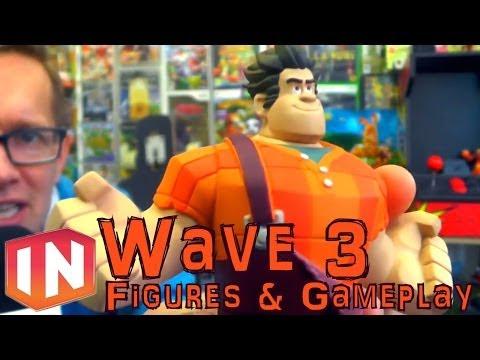 Disney Infinity Wave 3: Anna & Elsa (Frozen) Vanellope & Ralph (Wreck-it Ralph) Rapunzel (Tangled) - YouTube thumbnail