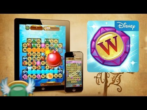 Disney Words of Wonder iOS Gameplay Review & Trailer - YouTube thumbnail
