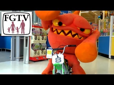 Eruptor Week (2 of 5) Eruptor Goes Shopping – Family Gamer TV Goes A Bit CBeebies - YouTube thumbnail