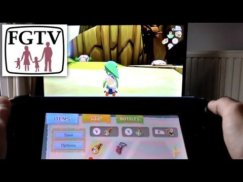 Family Review Zelda: The Wind Waker HD on Wii U