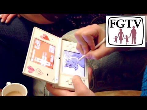 Flipnote Studio and Colors 3DS Get Children Creative Hatena (FGTV 2.72) - YouTube thumbnail