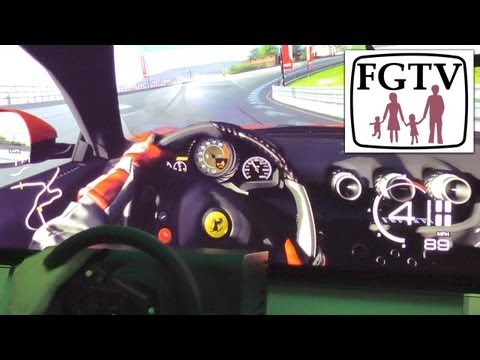 Forza 5 Hands-On Wheel and Sled, Interview Dan Greenwalt - YouTube thumbnail