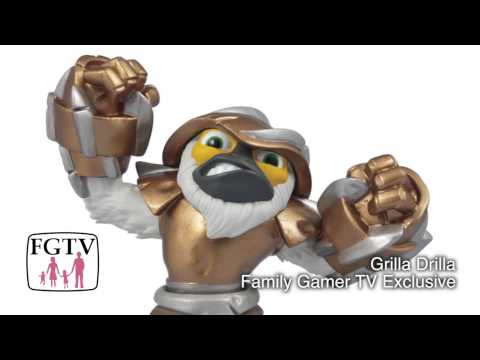 Grilla Driller Swap Force PS4 Game-Play & Figure Close Up (3 of 3) from Gamescom - YouTube thumbnail